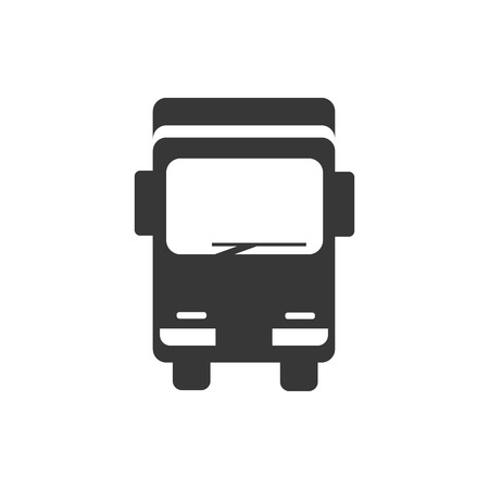 Truck sign icon, flat design best vector  イラスト・ベクター素材