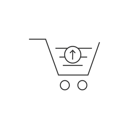 Add to Shopping Cart Line Icon