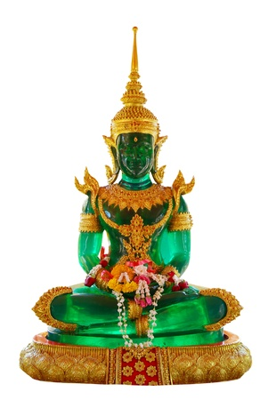 Emerald Buddha Stock Photo