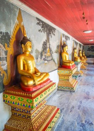 doi: Buddha image Wat Phrathat Doi Suthep Chiangmai , Thailand