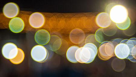 copy paste: Abstract circular bokeh background Stock Photo