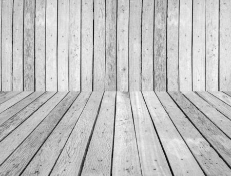 Wood background, black and white. photo