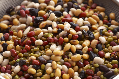 background from many beans photo