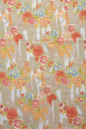 background from many rose fabric in sun light photo