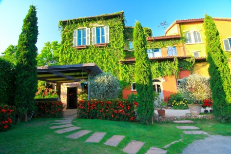 Beautiful House Italian style  at Khaoyai, Thailand.