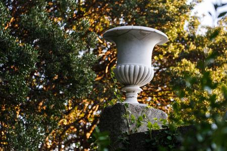 antique vase: antique marble vase in the Vorontsov Palace, Yalta, Crimea