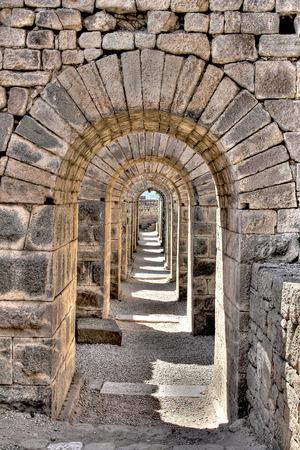Akropolis Pergamon (Bergama) Imagens