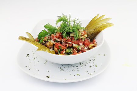 Turkish Gavurdagi Salad 写真素材