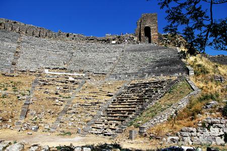 Pergamon ancient theatre in Izmir, Turkey