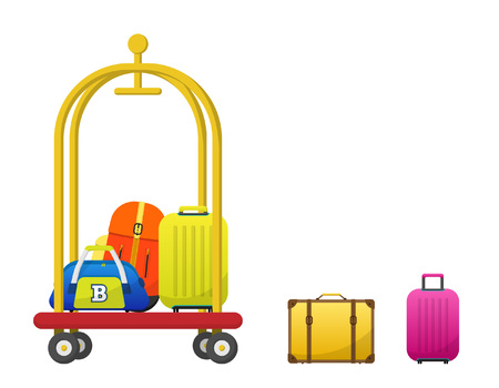 Baggage Vector Illustration