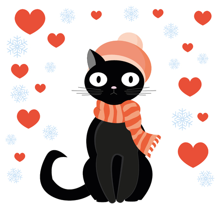 colds: Cat and heart