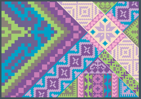 patchwork pattern: nice embroidery pattern
