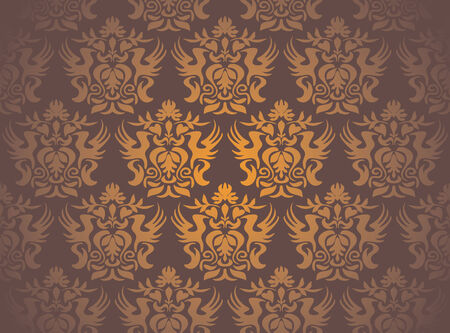 Seamless damask pattern Stock Vector - 6771593