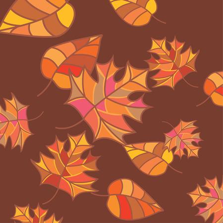 jachere: R�sum� arri�re-plan automne  Illustration