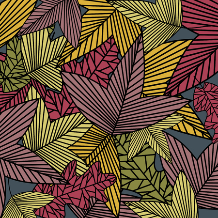 fallow: abstract autumn background Illustration