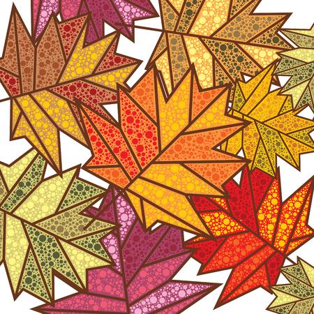 fallow: abstract autumn background illustration Illustration