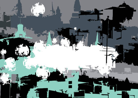 untidy: abstract grunge background illustration