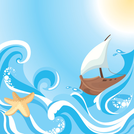 salt water: abstract sea background with free place for your text