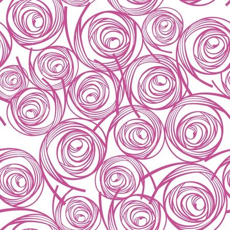 geometric design: abstract lovely decorative seamless pattern illustration Illustration