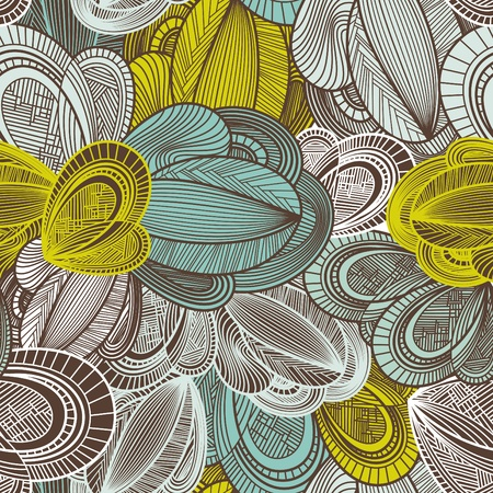 abstract geometric decorative seamless pattern vector illustration Stock Vector - 10142110