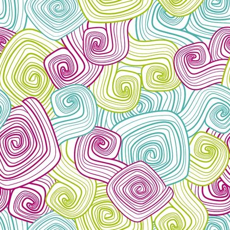 abstract geometric decorative seamless pattern.
