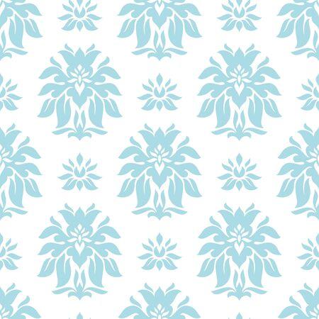 abstract seamless retro floral background vector illustration Vector