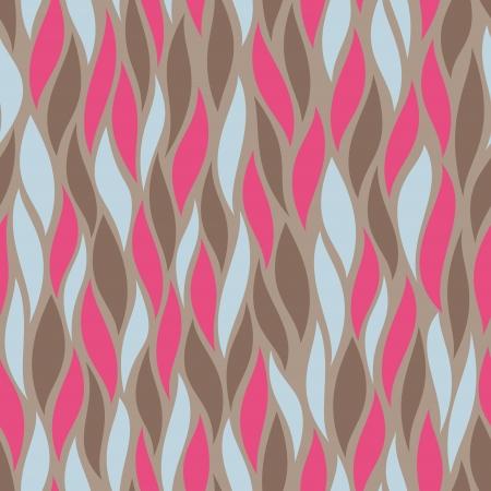 抽象的な装飾的なシームレス パターン背景ベクトル イラスト 写真素材 - 14809459