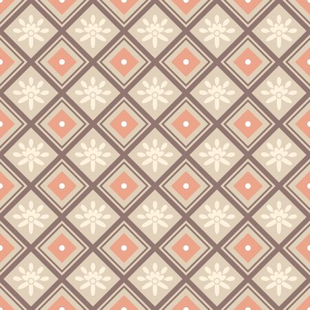 linear art: abstract decorative seamless pattern background vector illustration