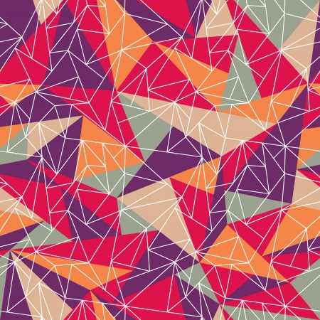 Abstract geometric colorful pattern background. Great for web page background.