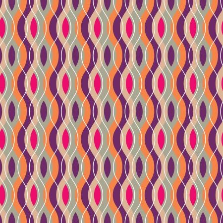 抽象的な幾何学的な波のカラフルなパターンの背景。Web ページの背景に最適です。  イラスト・ベクター素材