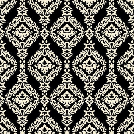Abstract floral seamless pattern background vector illustration Stock Vector - 22098762