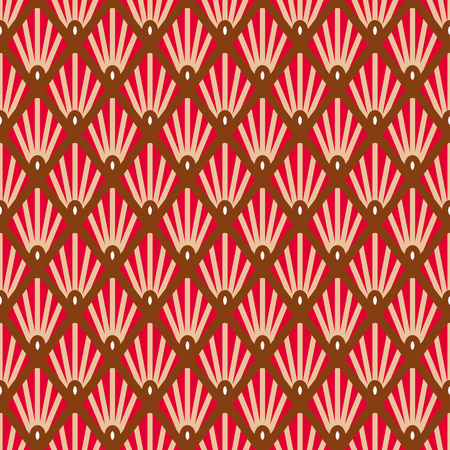 Seamless geometric colorful pattern background. Great for textile or web page background. Vector