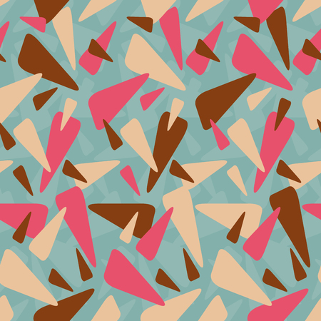 Abstract geometric colorful pattern background. Great for textile or web page background. Vector