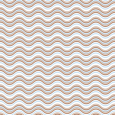 Geometric wave seamless pattern background. Great for textile or web page background. Vector