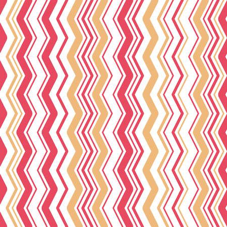 Zigzag seamless colorful pattern background. Great for textile or web page background. Vector