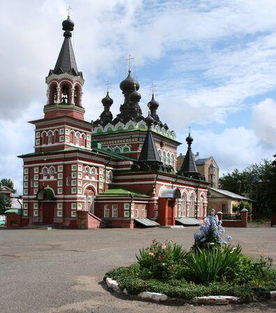 kirov: Russian orthodox church in Kirov city in Russia