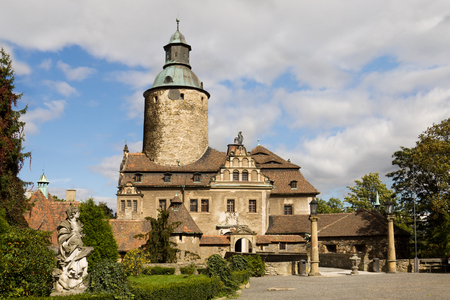 fortified: Czocha Castle in Poland  It is a defensive castle in the Czocha village in southwestern Poland  It was built in 13th century