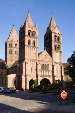 leger: Guebwiller is a commune in Alsace in north-eastern France  The Romanesque church of St  Leger was founded in 1182