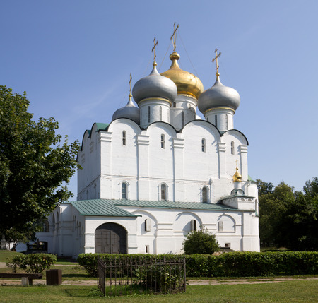 proclaimed: The Smolensky Cathedral in the Novodevichy Convent. Moscow Russia. The Novodevichy Convent was founded in 16th century. In 2004 it was proclaimed a UNESCO World Heritage Site.