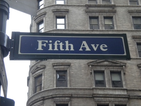 fifth:  fifth avenue, new york