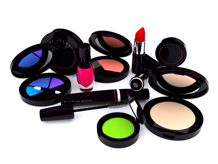 Black make-up series Stock Photo
