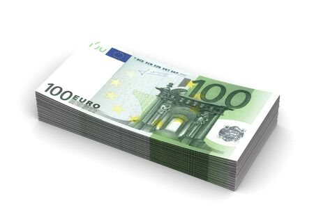 Stack of Euro photo