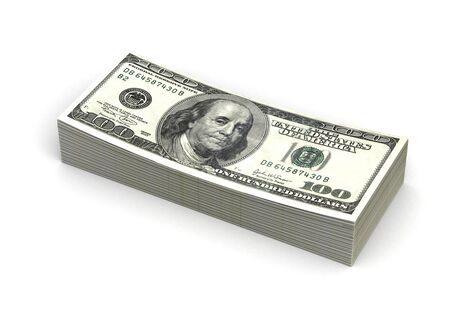 Stack of Dollar Stock Photo - 14376964