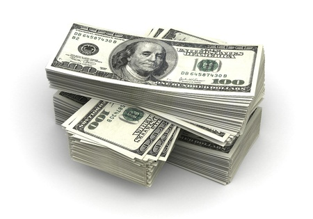Stack of Dollar Stock Photo - 14376977