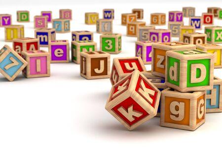 Play Blocks Stock Photo - 14455319