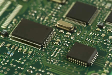 Electronic Circuit Stock Photo - 14552276