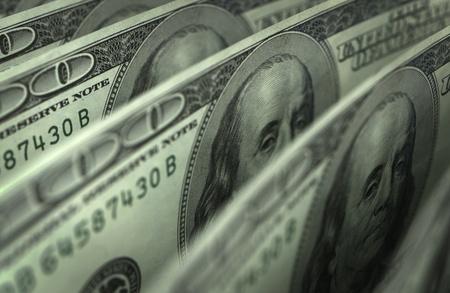 Dollar Close-Up Stock Photo - 14552681