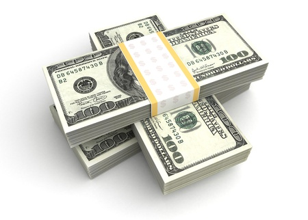 Stack of Dollar Stock Photo - 14552627