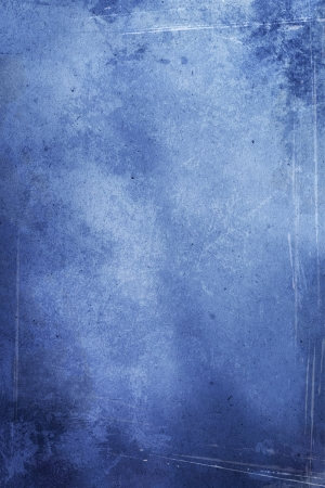Blank Aged Blue Background Stock Photo - 14832941