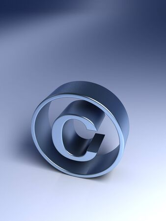 Copyright Symbol Stock Photo - 14832860